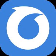 oarly logo cirle blue